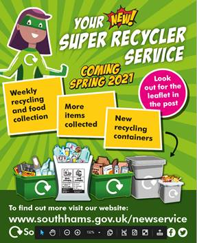 Shaugh Prior Parish Council new recycling service